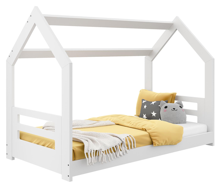 HÁZIKÓ D2B gyerek ágy 160x80cm tömör fehér