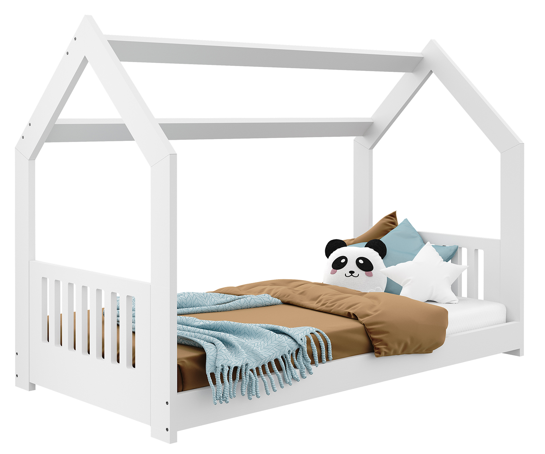 HÁZIKÓ D2E gyerek ágy 160x80cm tömör fehér