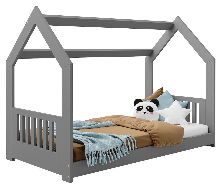 HÁZIKÓ D2E gyermek ágy 160x80cm tömör szürke