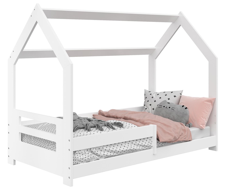 HÁZIKÓ D5B gyerek ágy 160x80cm tömör fehér