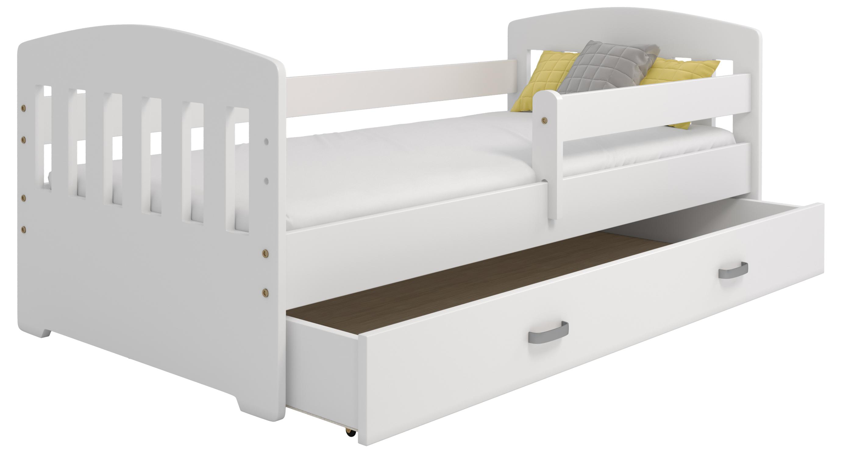Mája M6 gyermek ágy 80x160 fehér