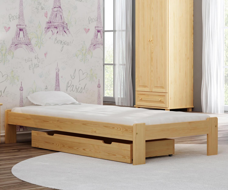 Adéla ágy fenyő 90x200cm