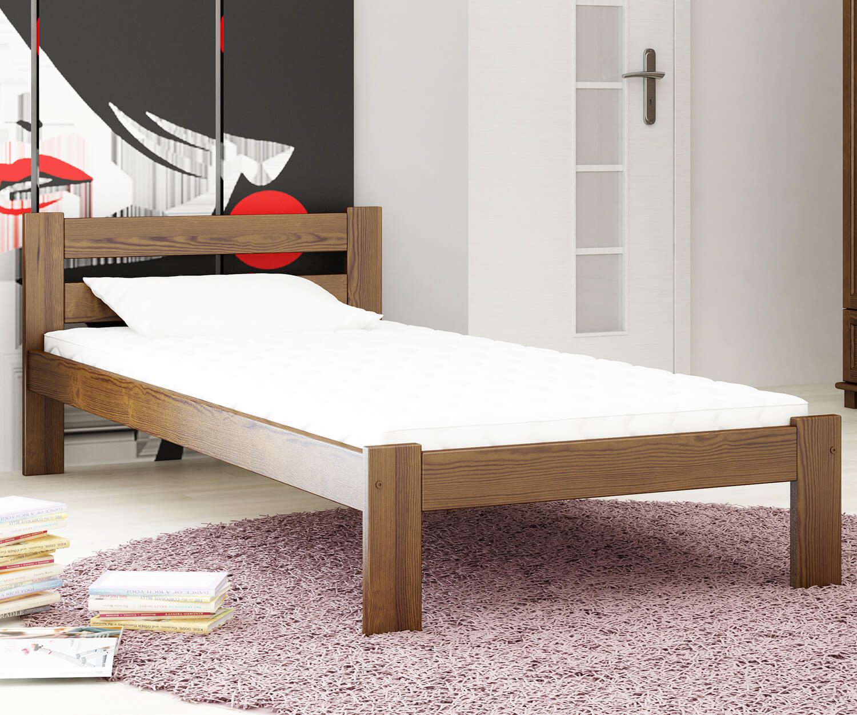 Akio VitBed ágy 90x200cm dió