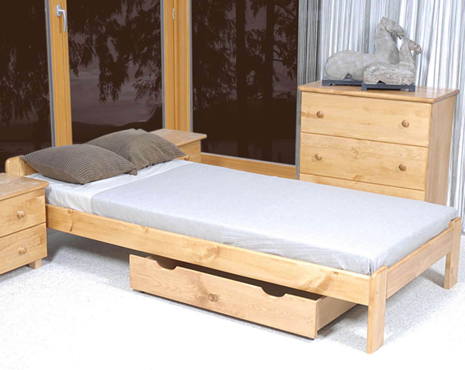 Jasnena ágy 90x200 éger