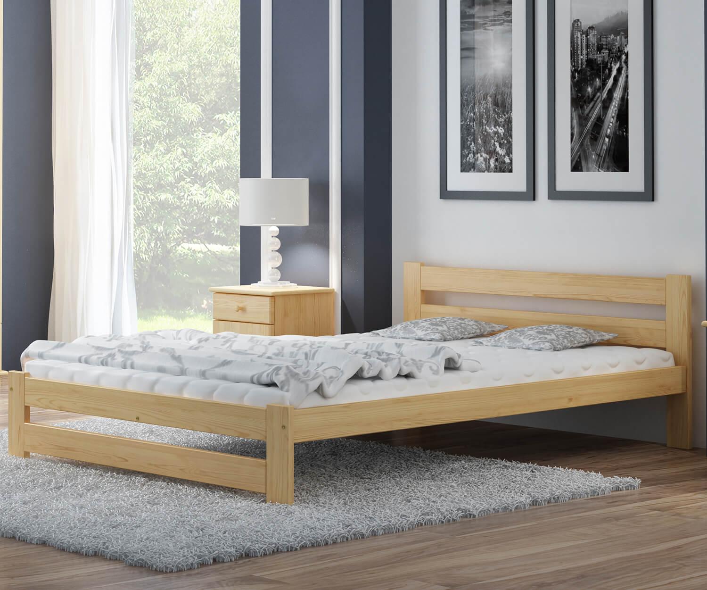Eureka VitBed fenyő ágy 120x200cm