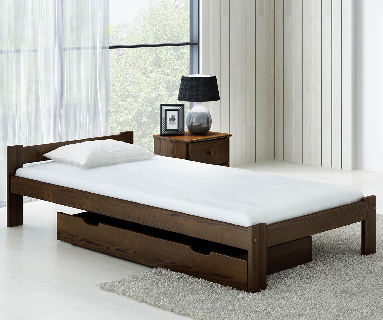 Isao VitBed ágy 90x200cm dió