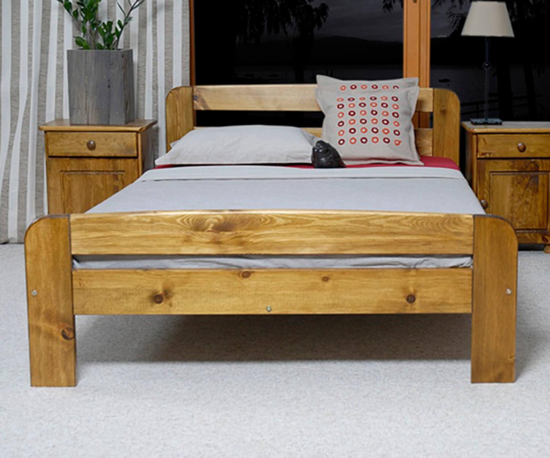Nastenka ágy 120x200 tölgy