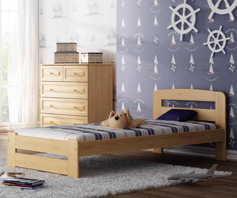Sasa ágy fenyő 90x200