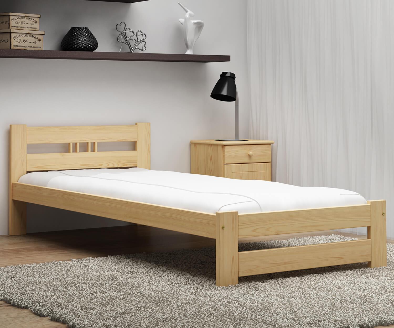 LUX VitBed fenyő ágy lakkozás nélkül 90x200cm