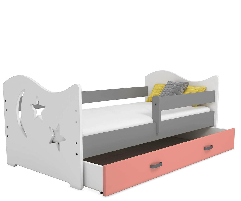 Mája M1 gyermek ágy 80x160 fehér