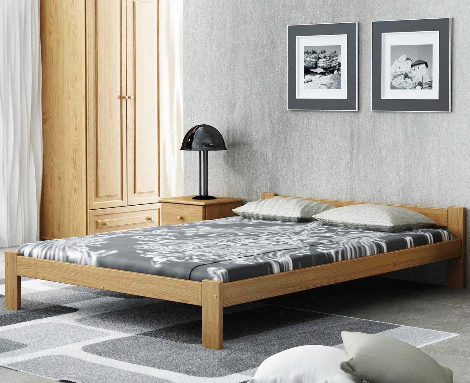 Isao VitBed ágy120x200cm tölgy