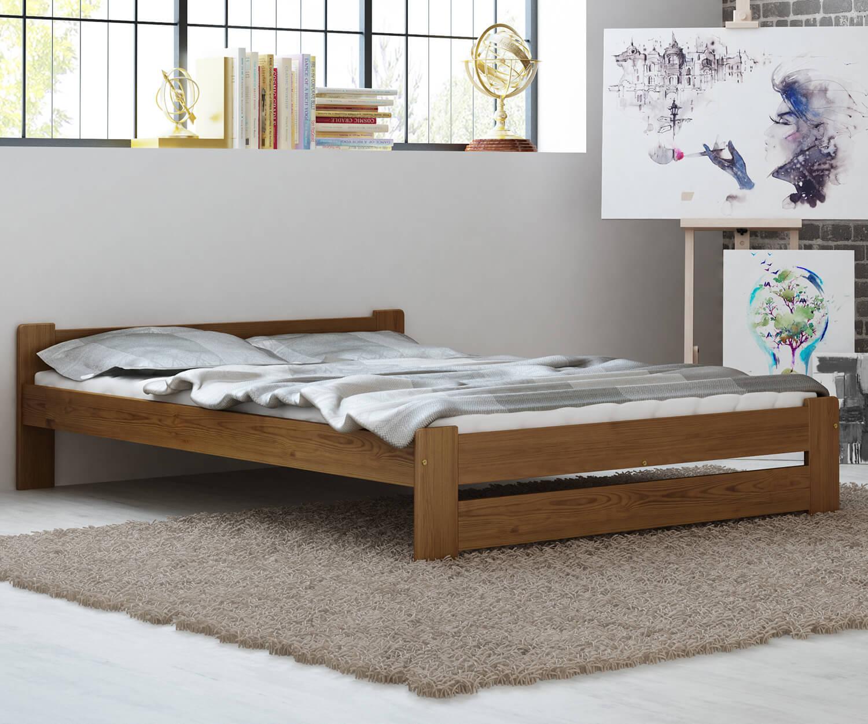 Euro ágy 120x200 tölgy