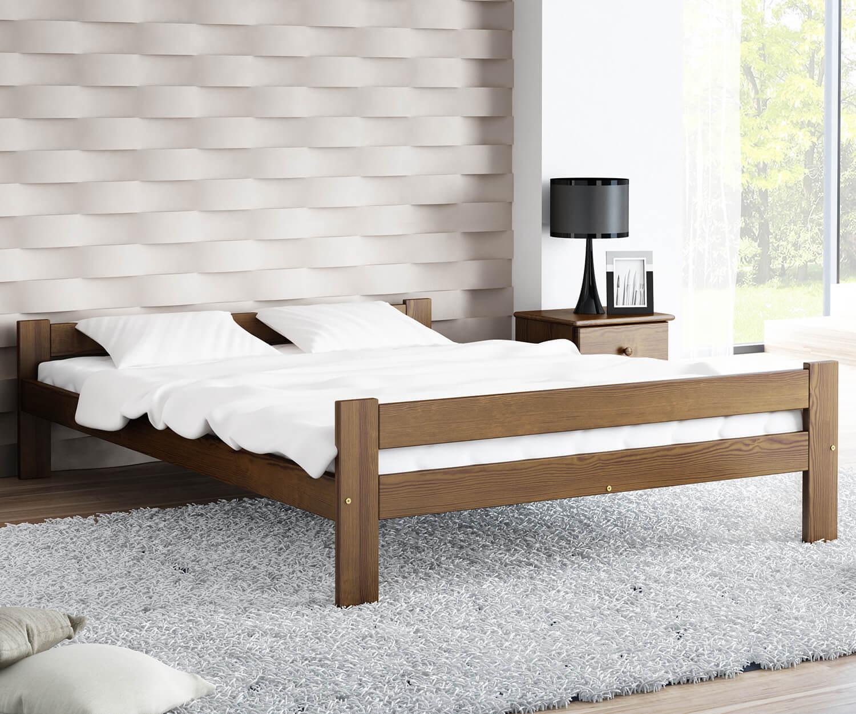 Fumi VitBed ágy 120x200cm dió