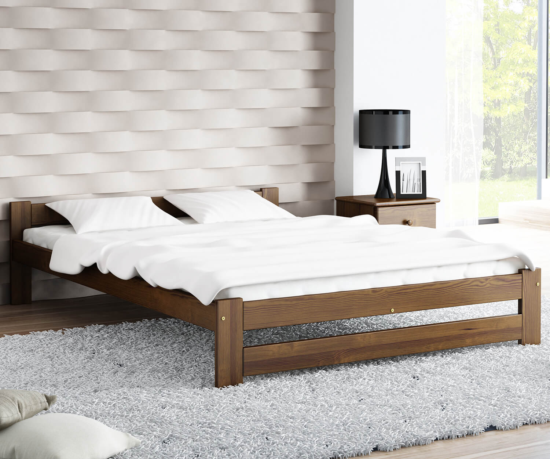 Ran VitBed ágy 120x200cm dió