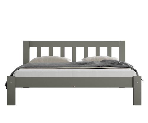 Alena ágy tömör szürke 120x200