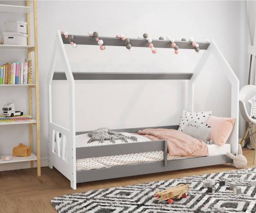 HÁZIKÓ D5A gyerek ágy 160x80cm tömör fehér