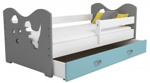 Mája M3 gyermek ágy 80x160 fehér