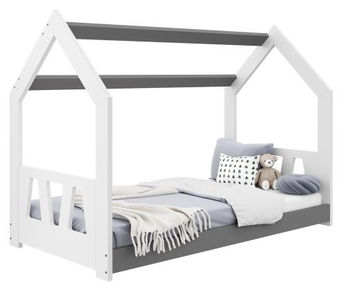HÁZIKÓ D2A gyerek ágy 160x80cm tömör fehér