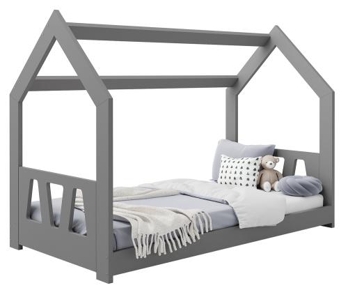 HÁZIKÓ D2A gyermek ágy 160x80cm tömör szürke