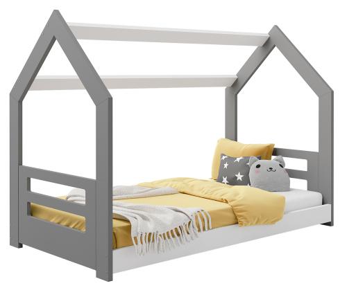 HÁZIKÓ D2B gyermek ágy 160x80cm tömör szürke