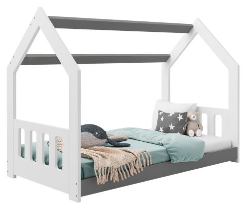 HÁZIKÓ D2C gyerek ágy 160x80cm tömör fehér