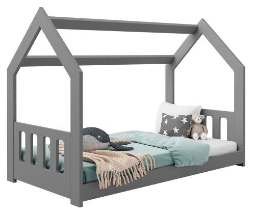 HÁZIKÓ D2C gyermek ágy 160x80cm tömör szürke