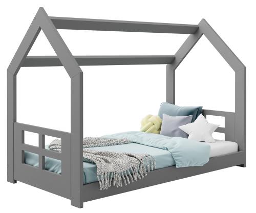 HÁZIKÓ D2D gyermek ágy 160x80cm tömör szürke