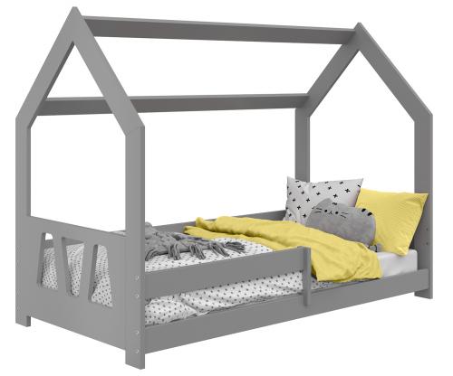 HÁZIKÓ D5A gyermek ágy 160x80cm tömör szürke