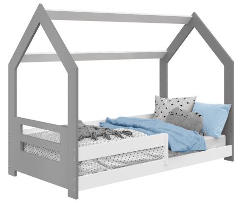 HÁZIKÓ D5B gyermek ágy 160x80cm tömör szürke