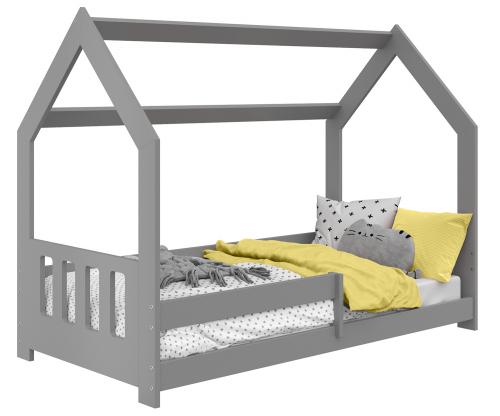 HÁZIKÓ D5C gyermek ágy 160x80cm tömör szürke