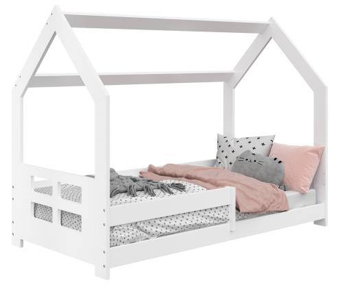 HÁZIKÓ D5D gyerek ágy 160x80cm tömör fehér