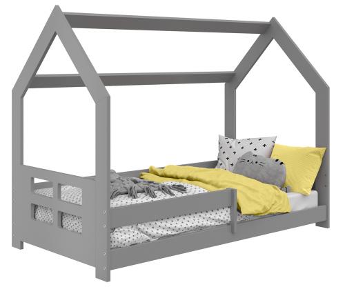 HÁZIKÓ D5D gyermek ágy 160x80cm tömör szürke