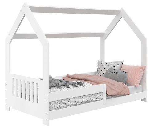 HÁZIKÓ D5E gyerek ágy 160x80cm tömör fehér