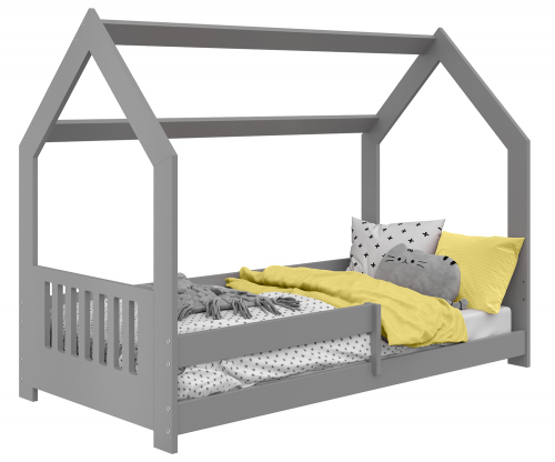 HÁZIKÓ D5E gyermek ágy 160x80cm tömör szürke