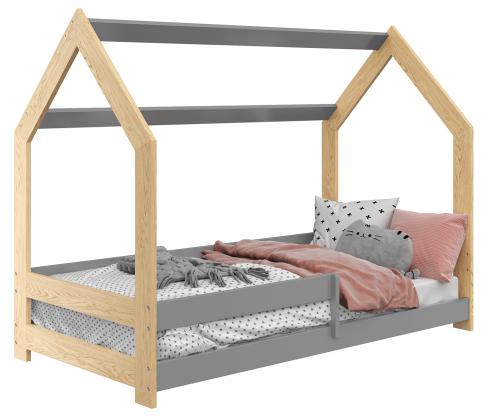 HÁZIKÓ D5 gyerek ágy 160x80cm tömör fenyő