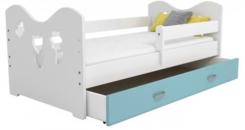 Mája M2 gyermek ágy 80x160 fehér