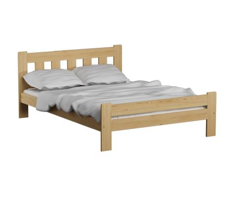 Greta ágy tölgy 120x200