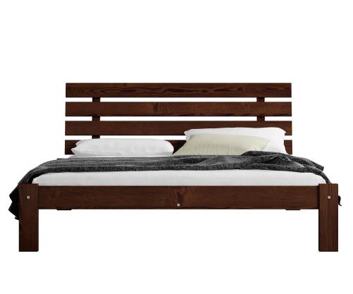 Karla fenyő ágy 120x200 dió