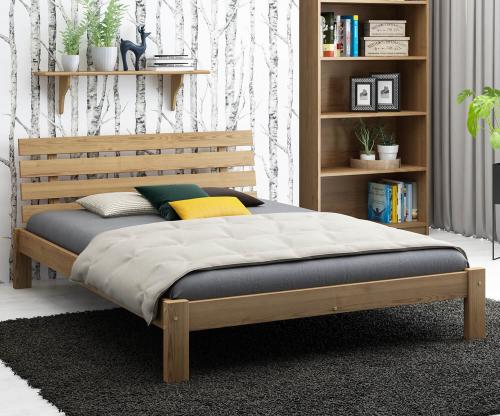 Karla fenyő ágy 120x200 tölgy