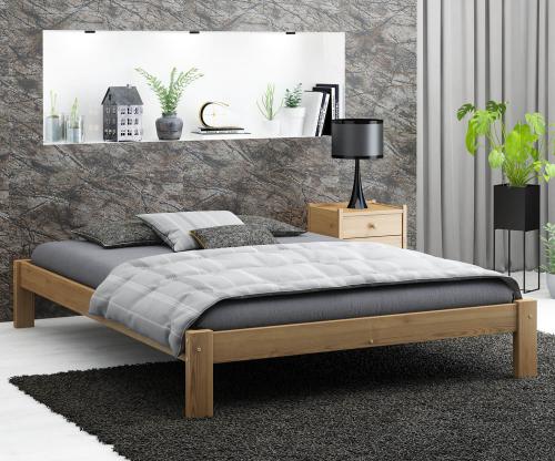 Luisa fenyő ágy 160x200 tölgy