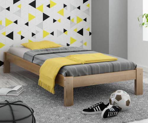 Luisa fenyő ágy 90x200 tölgy