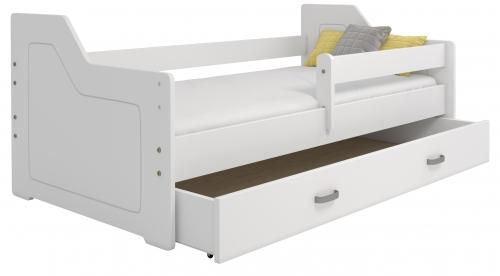 Mája M4 gyermek ágy 80x160 fehér