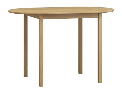 Ovális fenyő asztal c4 115x70 cm