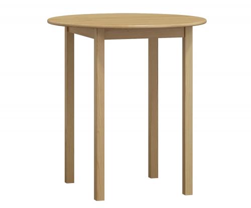 Fenyő asztal c3, átmérője 80 cm