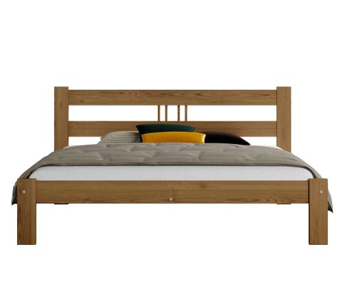 Virginia fenyő ágy 120x200 tölgy