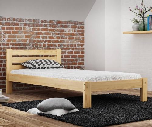 Ajza fenyő ágy 90x200