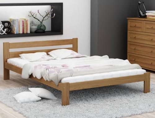 Akio VitBed ágy 140x200cm tölgy
