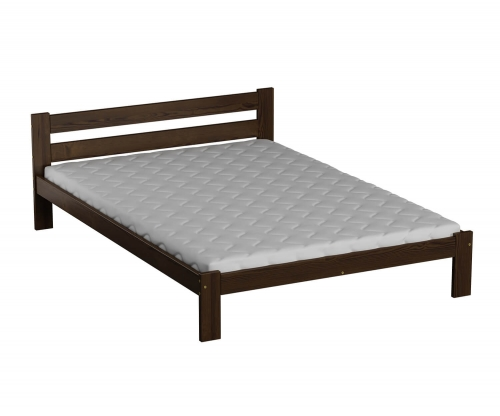 Akio VitBed ágy 120x200cm dió