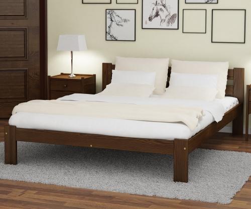 Akio VitBed ágy 140x200cm dió
