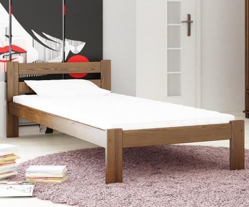 Akio VitBed ágy dió 90x200cm + Matrac Heka 90x200